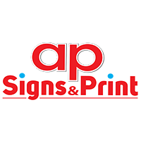 A P Signs and Print Sponsors logo